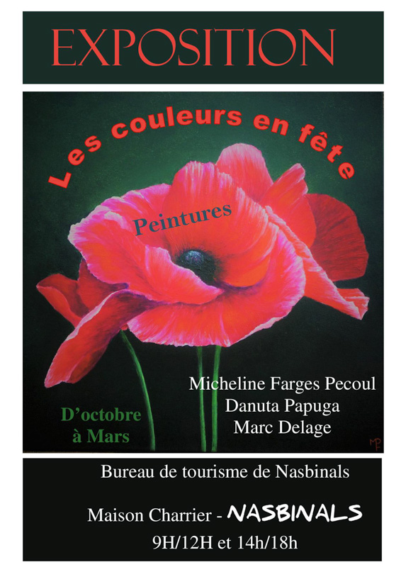 affiche expo farges papuga delage