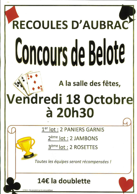 belote 17 octobre