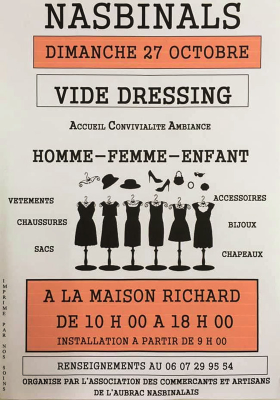 vide dressing octobre