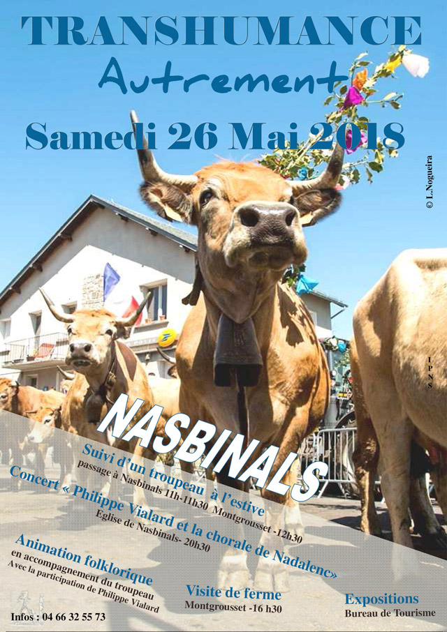 transhumance autrement affiche 2018 photoshop